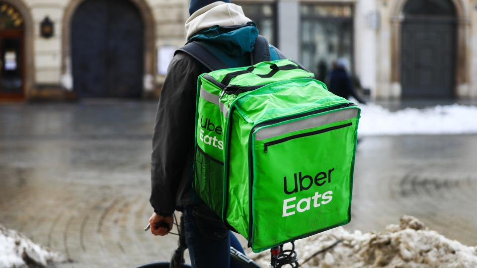 Food Delivery During Pandemic In Krakow, Poland