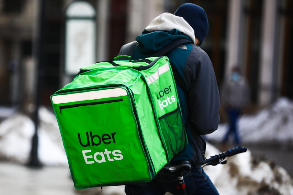 Food delivery during a pandemic
