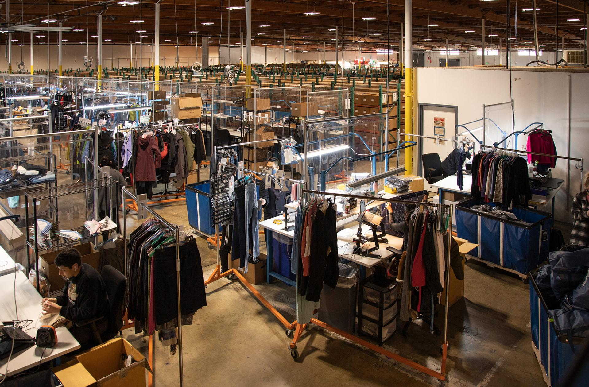 """One of the biggest challenges for brands entering resale: Dealing with an endless supply of unique items. """"It makes it tricky,"""" says Katie Wilson, senior manager for social and environmental sustainability at Arc'teryx. """"We don't have the infrastructure to sell one-of-a-kind products."""""""