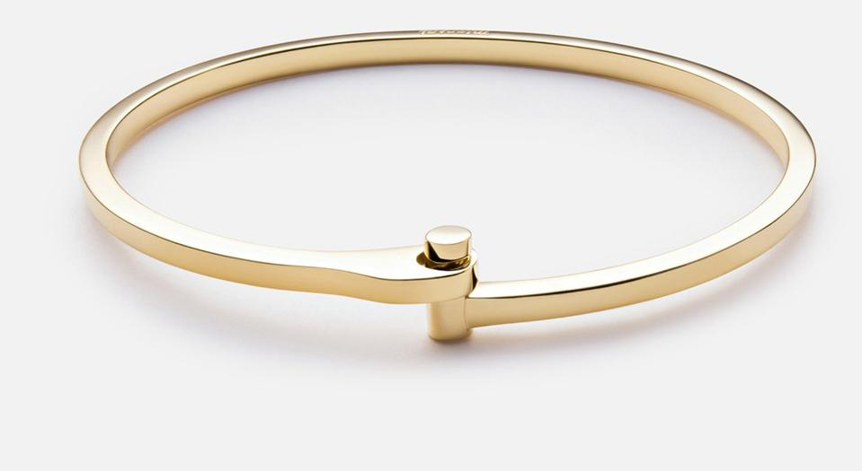 The Nyx Cuff by Miansai made out of 14K Gold