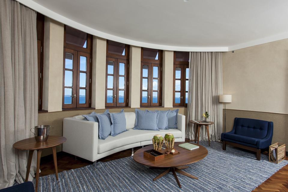 Fasano Salvador hotel suite.