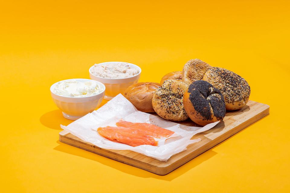 New York Bagel Brunch for 6 from Ess-a-Bagel