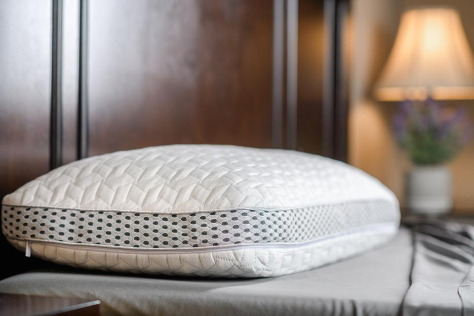 LAYR Customizable Pillow from Luxome