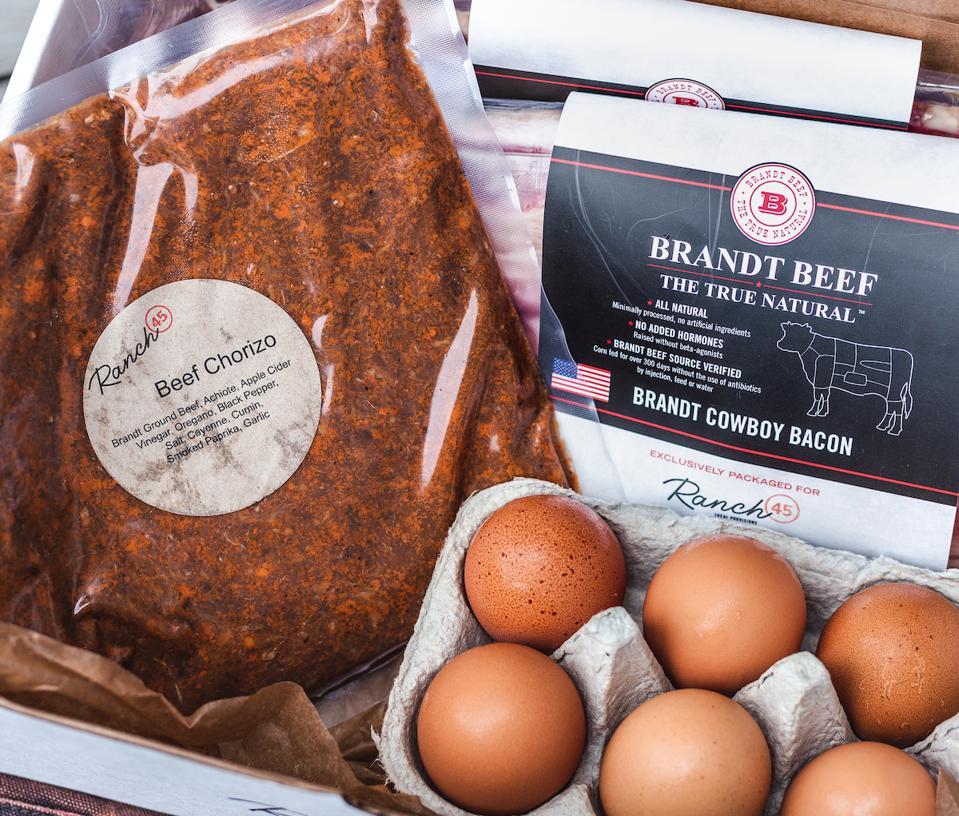 Breakfast Box from Ranch 45