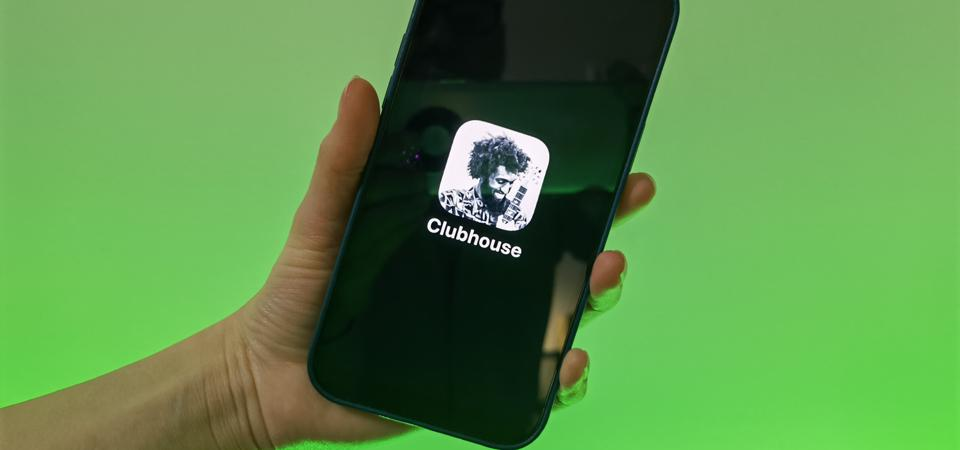 Social media app Clubhouse
