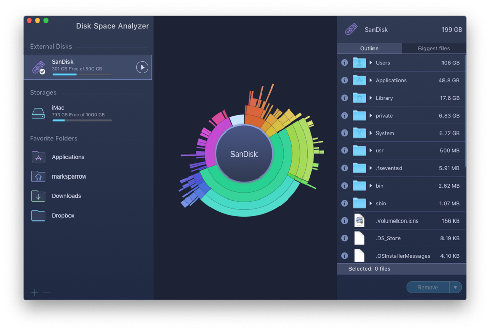 Disk Space Analyser