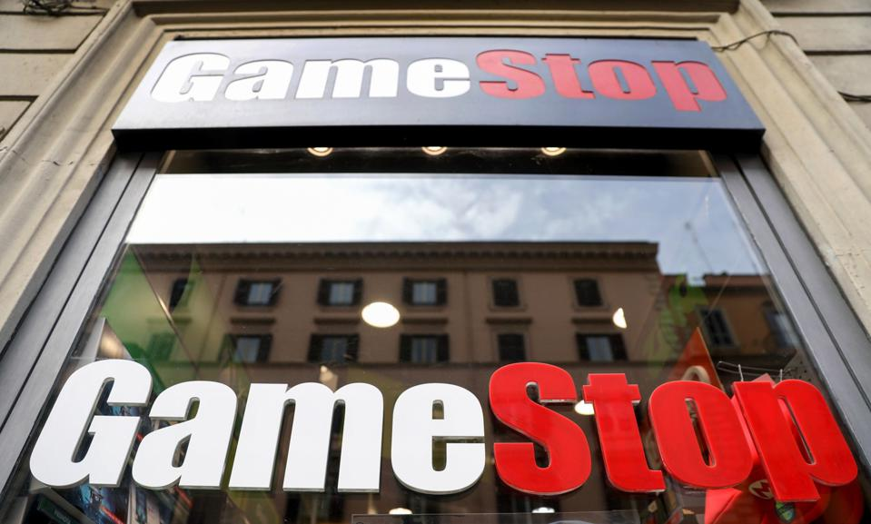 GameStop Corp. Stores As Stock Soars