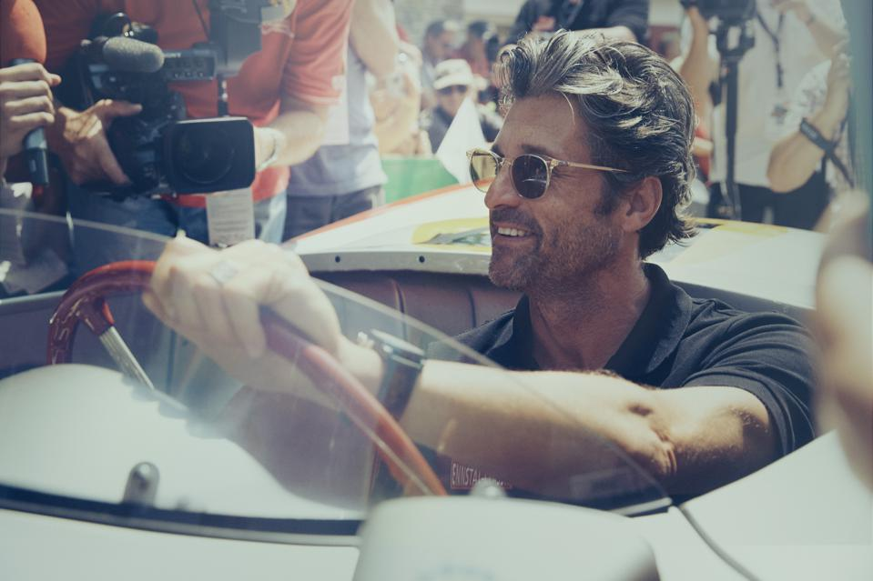 From film sets to racetracks: Patrick Dempsey has served as the face of Tag Heuer Monaco since 2016.