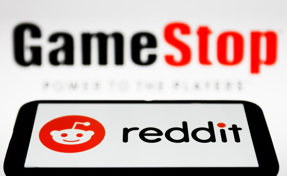 Reddit, GameStop Photo Illustrations