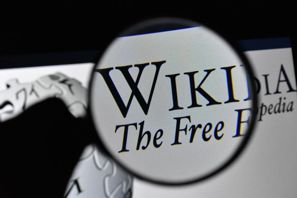 Logo of Wikipedia