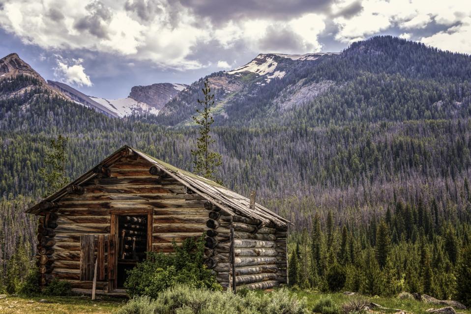 Abandoned Mountain Cabin