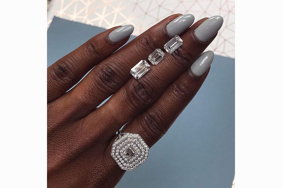 The beauty of emerald-cut diamonds