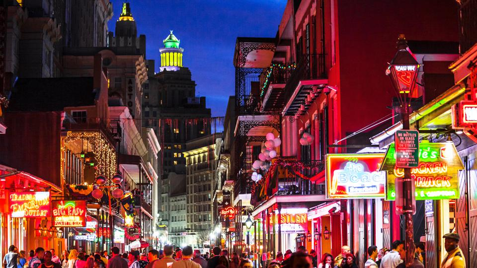 French Quarter nightlife - New Orleans, Louisiana