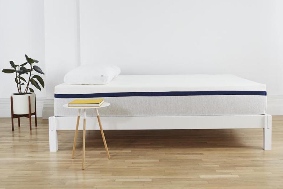 helix sleep memory foam mattress