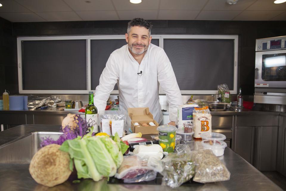 Michelin-starred chef Tim Allen for Wellocks At Home