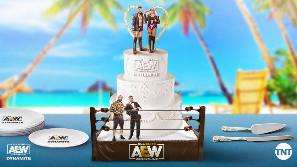 AEW Beach Break featured a wedding between Kip Sabian and Penelope Ford.