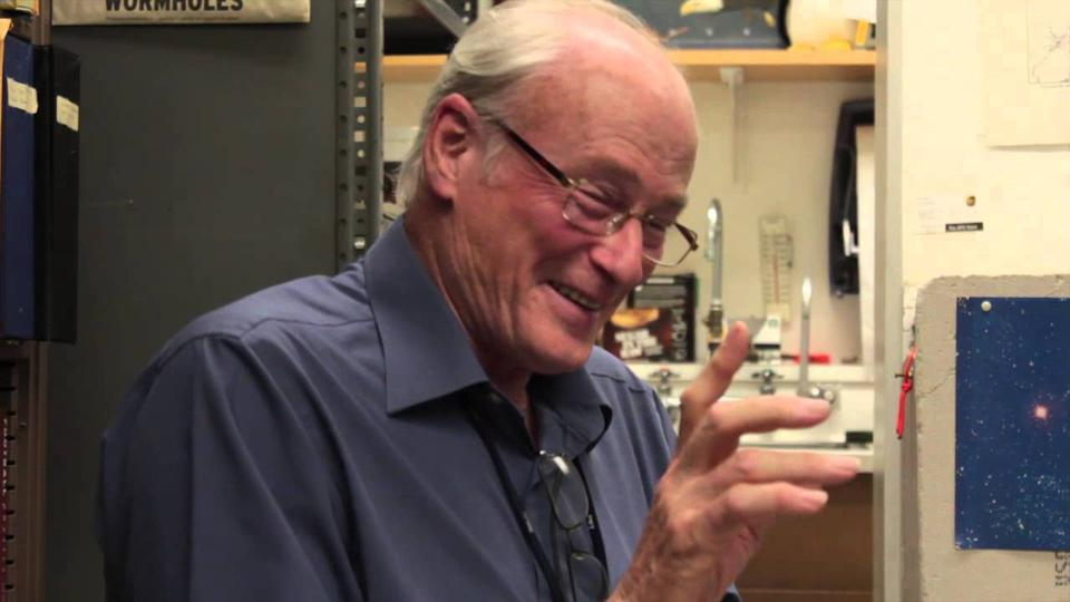 James Woodward, professor emeritus at Fullerton, and inventor of the Mach Effect space drive.