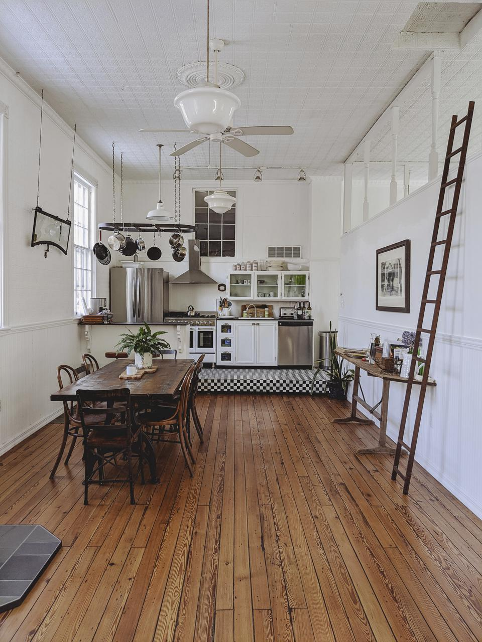 converted schoolhouse