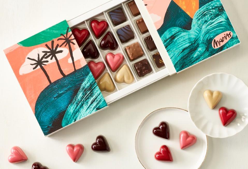 Hearts & Hill Chocolate Box