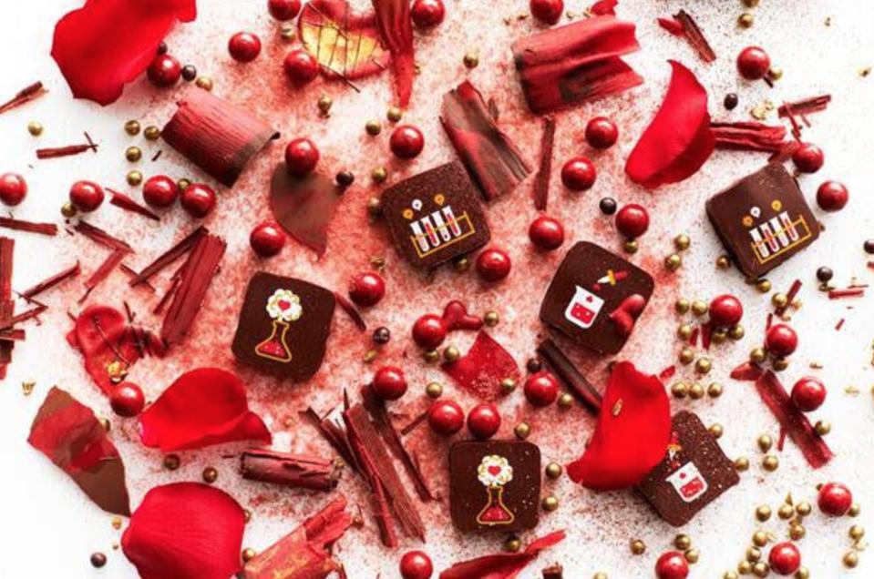 Chemistry Of Love Truffles