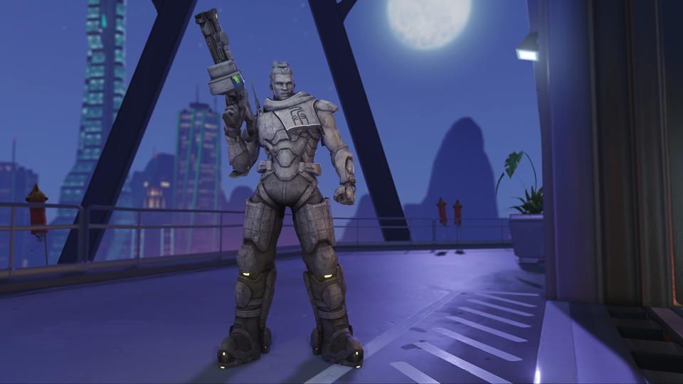 Overwatch 2021 Anul Nou Lunar pielea Baptiste Terracotta Medic