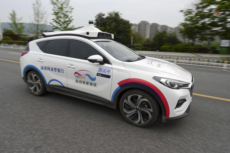 Self-driving Robotaxi In Changsha