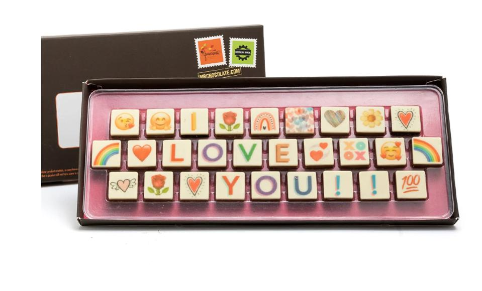 I Love You Edible Message
