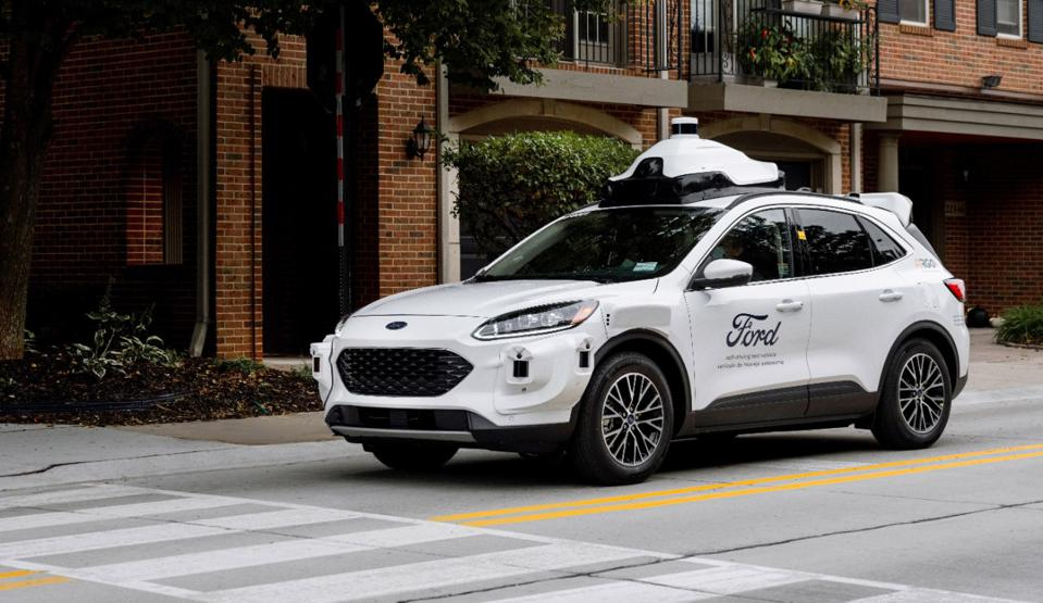 Fourth-generation automated driving test vehicle based on Ford Escape hybrid