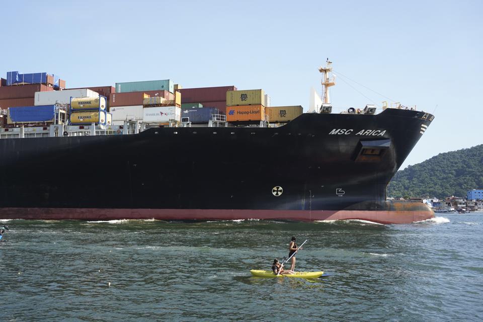 MSC Cargo Ship