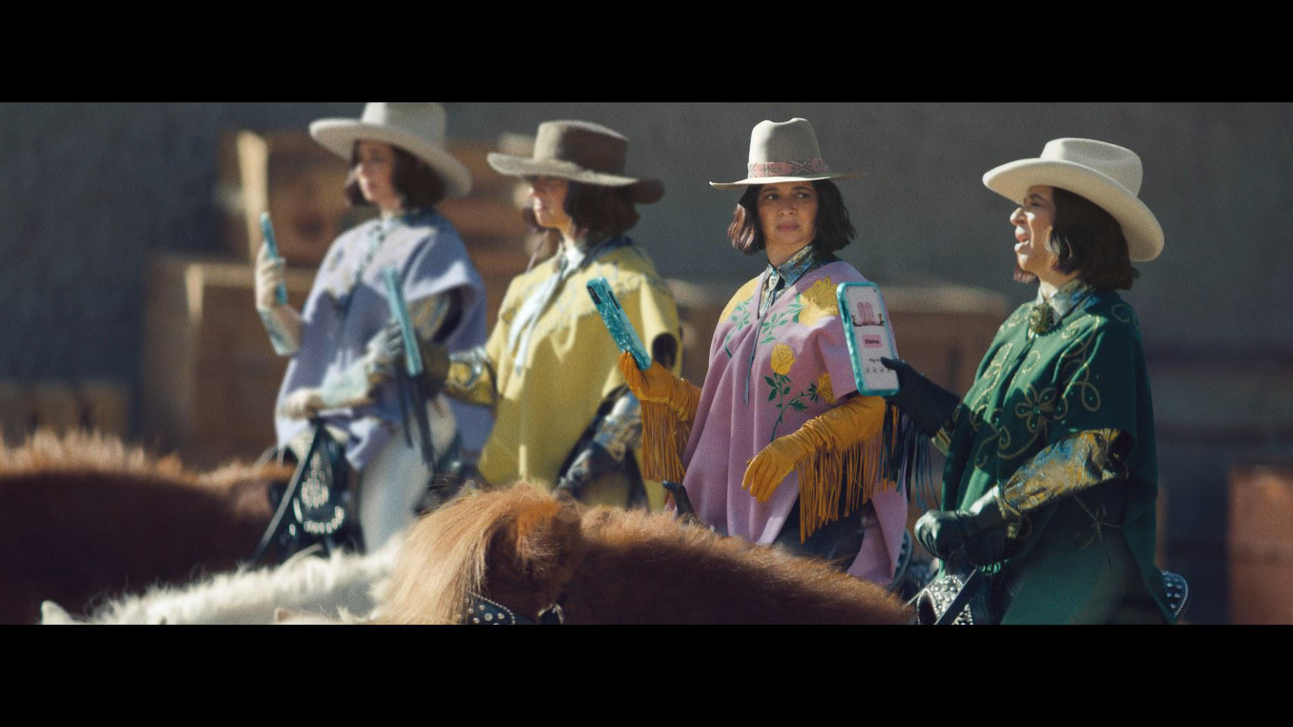 Maya Rudolph stars as four clones of herself in Klarna's first Super Bowl commercial.