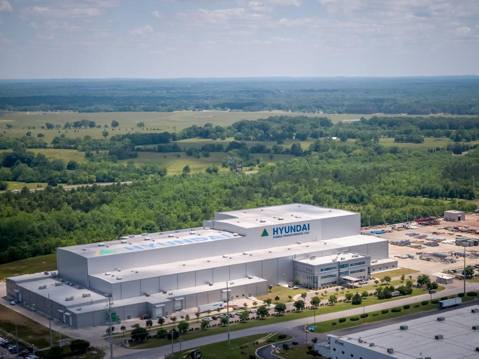 The Hyundai Power Transformers plant in Montgomery, Alabama.