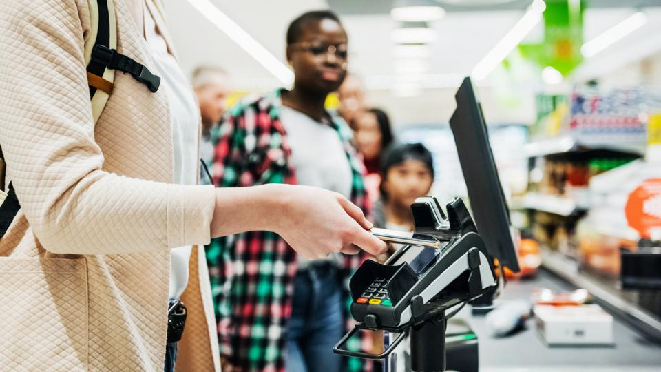 Financial services industry trends contactless payments data AI BeyondCorp