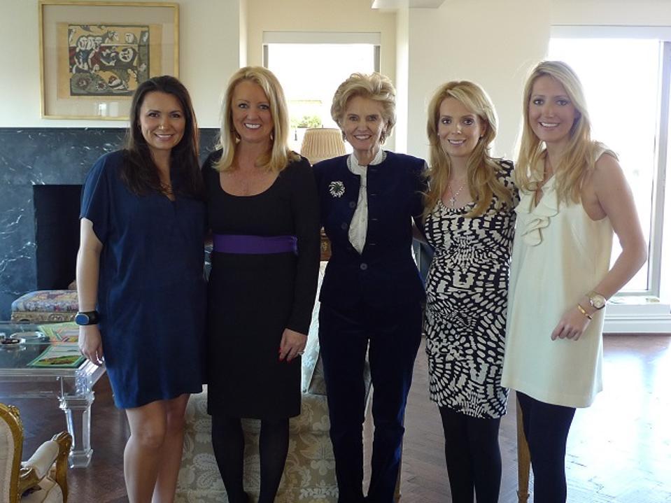 The Schlegel ladies with Allie Beth Allman