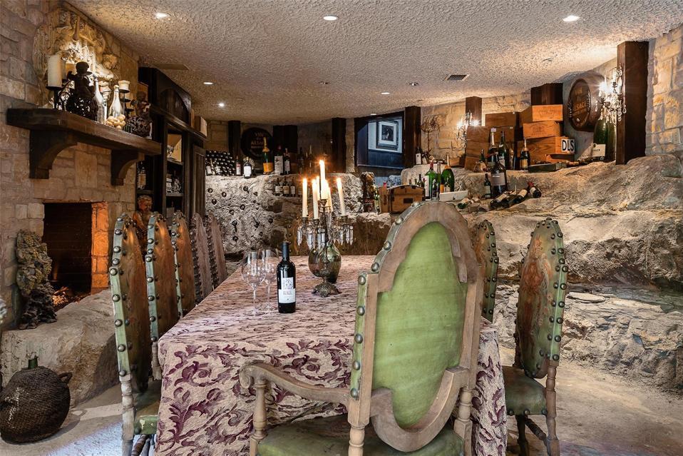 4444 Valley Ridge wine cellar