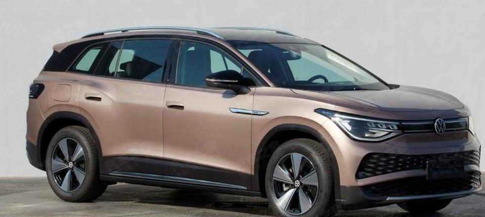 Photos of the Volkswagen ID.6 all-electric SUV were pulled from china's MIIT site.