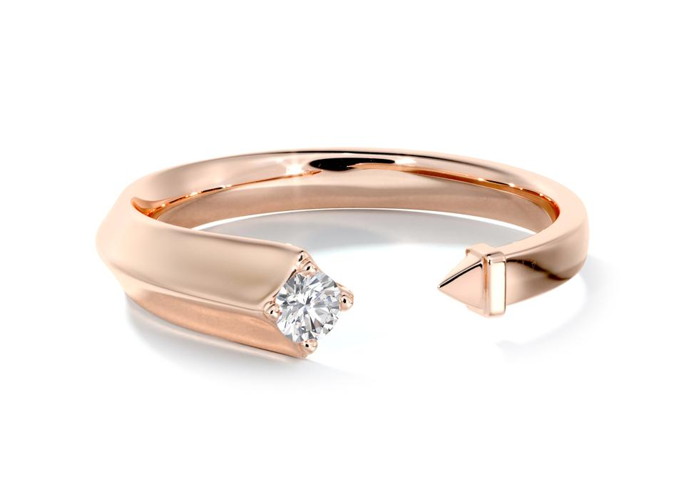 Avaanti collection by Forevermark rose gold and diamond ring
