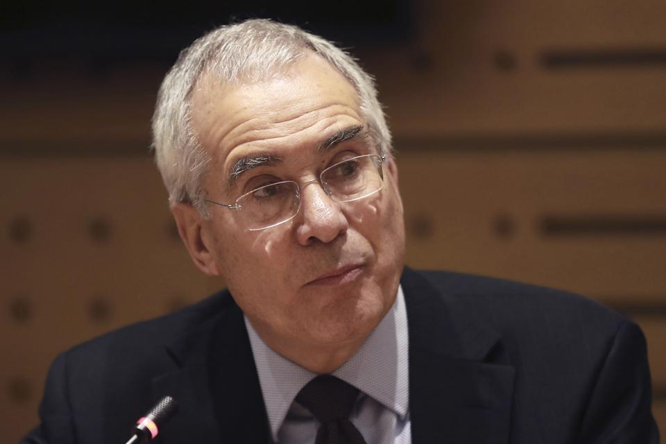 British economist and academic Lord Nicholas Stern in Paris on January 31, 2017.