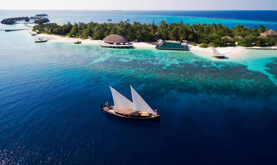 A view over Huvafen Fushi