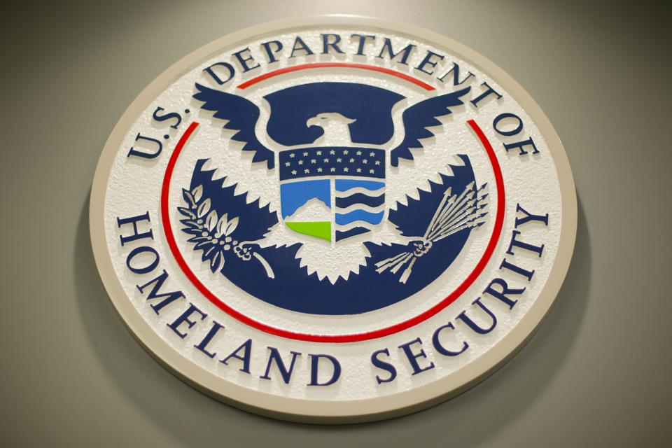 Badge of the Department of Homeland Security