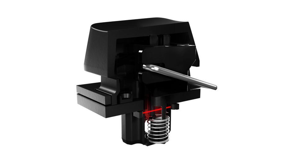 Razer Analog Optical Switch, side view
