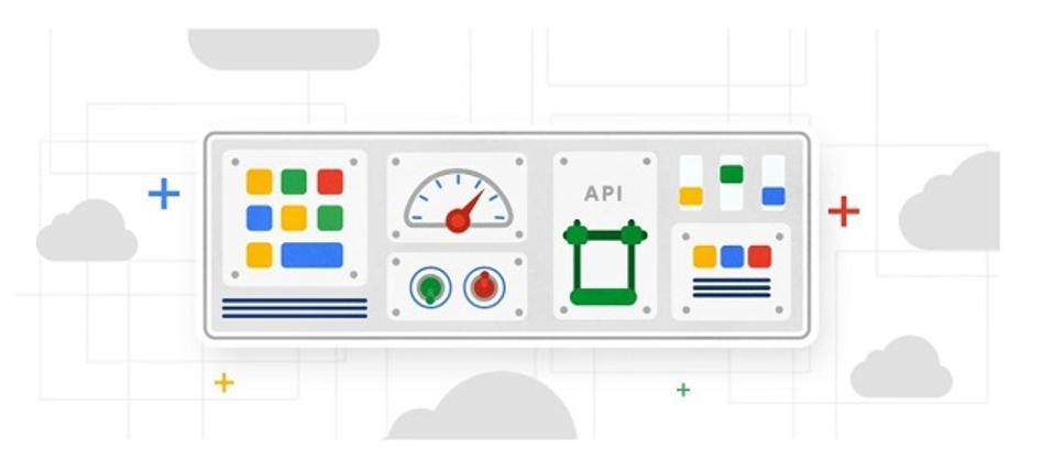 Google Cloud API logos
