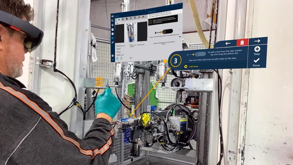 Augmented reality in manufacturing