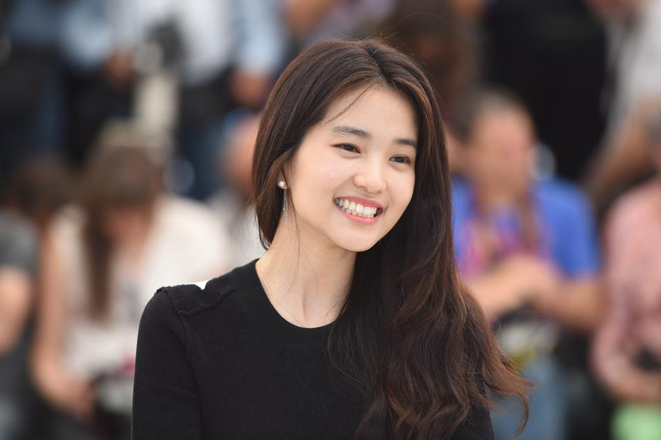 Kim Tae-Ri  attends 'The Handmaiden' (Mademoiselle) photocall during the 69th annual Cannes Film Festival .