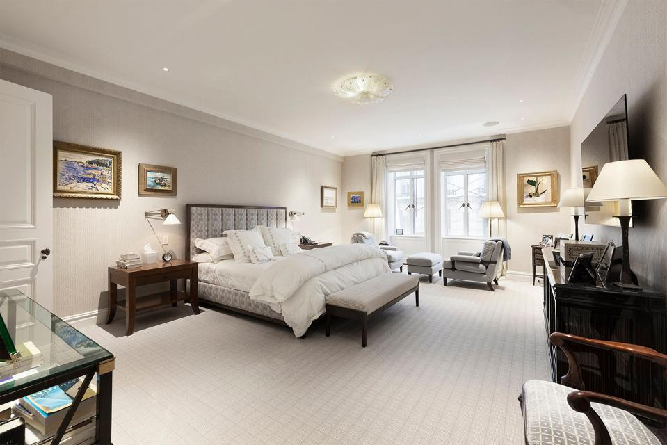 bedroom inside 145 Central Park West 4C at san remo in new york city