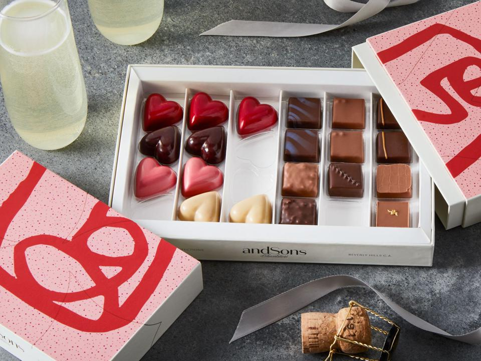 andSons Chocolatiers Valentine's Day Gift Box