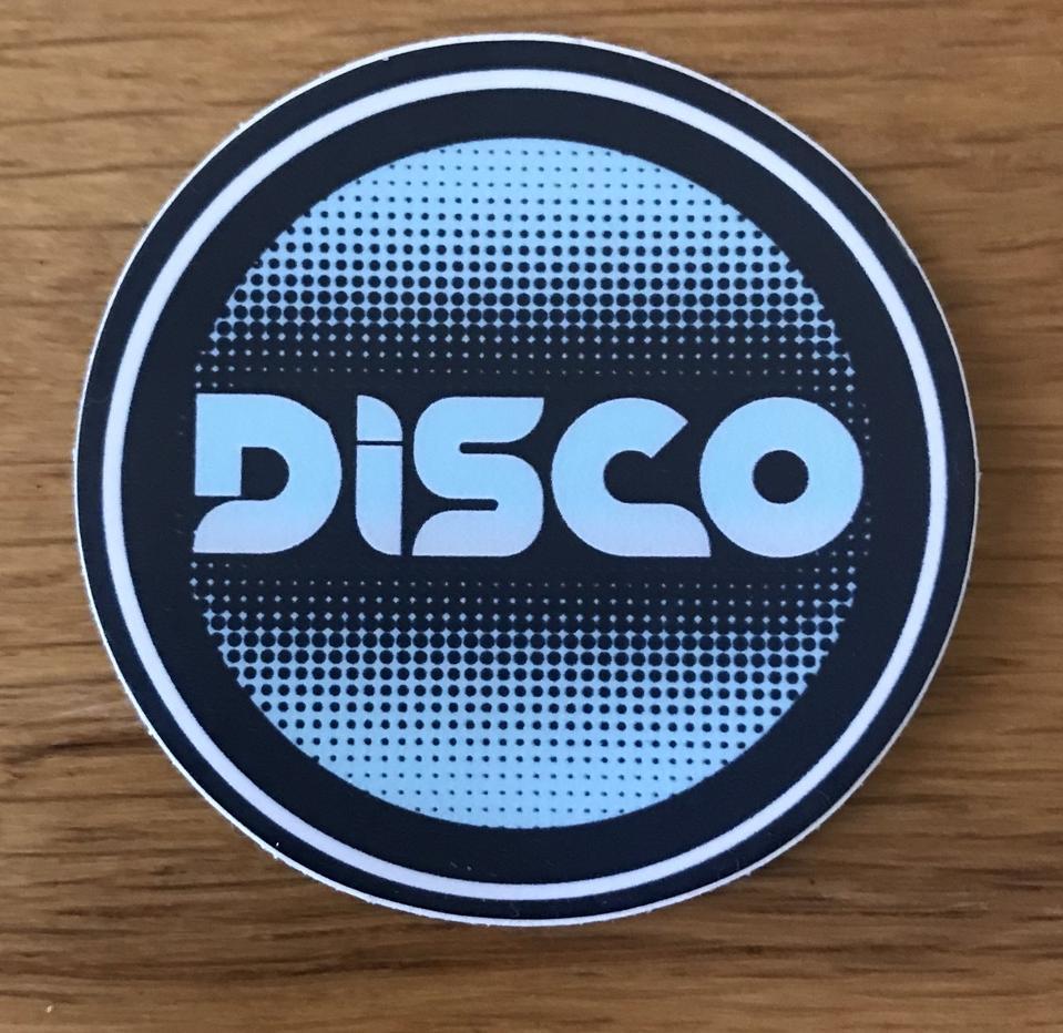 disco music sticker