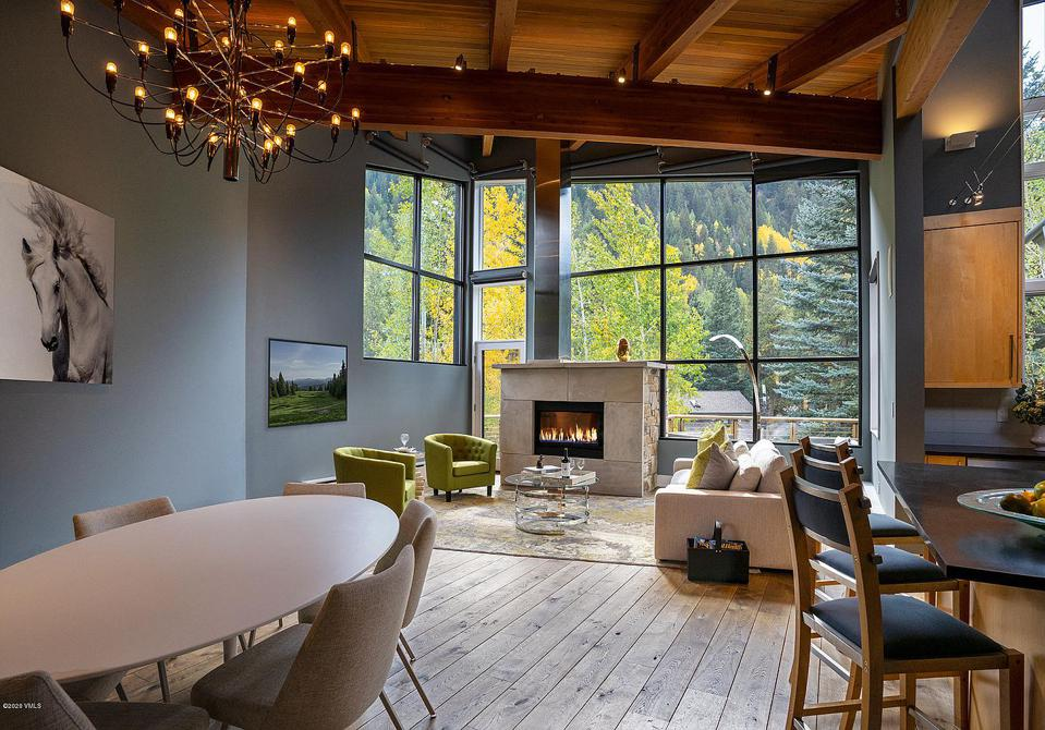 luxury contemporary home in east vail, colorado