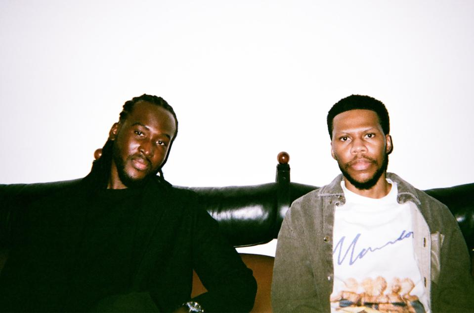 Ousman Sahko andAkin AdebowaleSoware co-founders of the Black content creation agencyBlacktag.