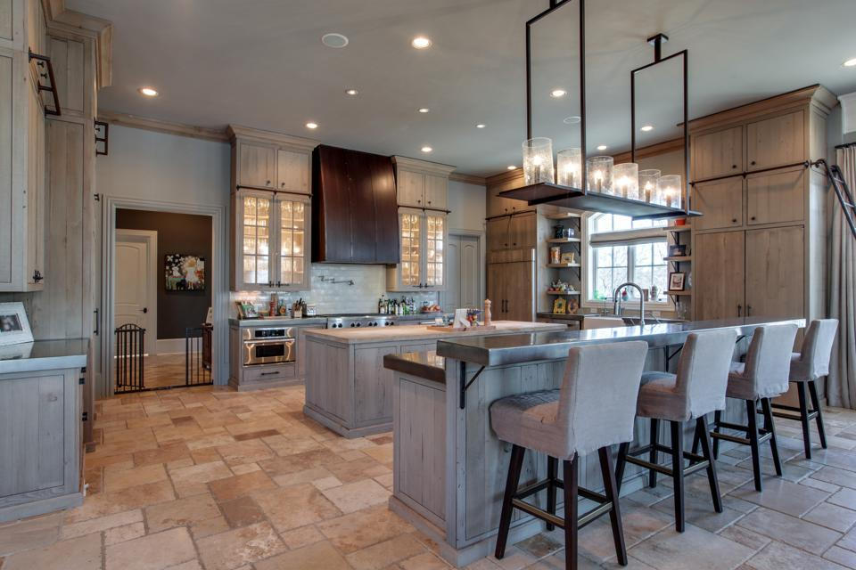 Modern rustic country-style kitchen