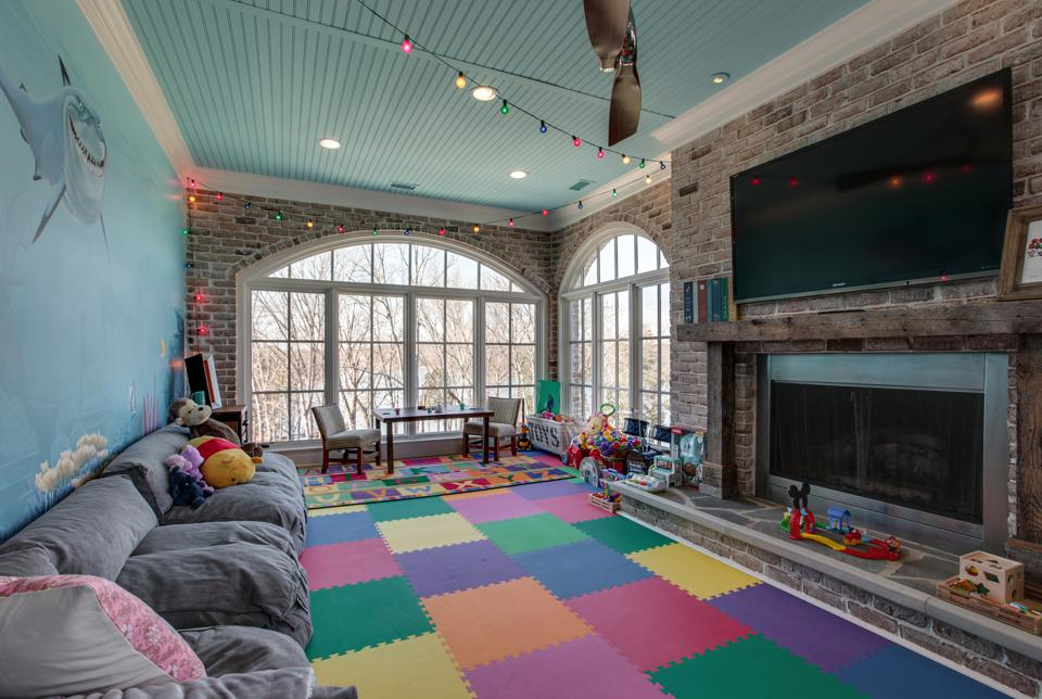 Large children's playroom